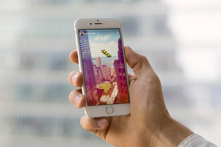 Instagram stories permitirá vídeos mais longos