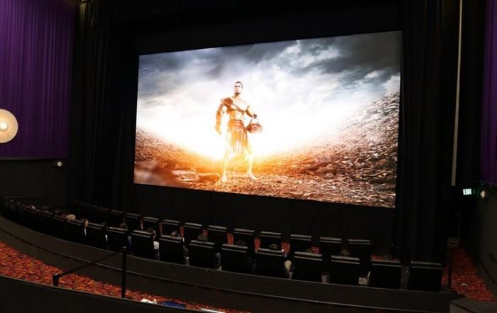 tela de cinema LED 4K samsung