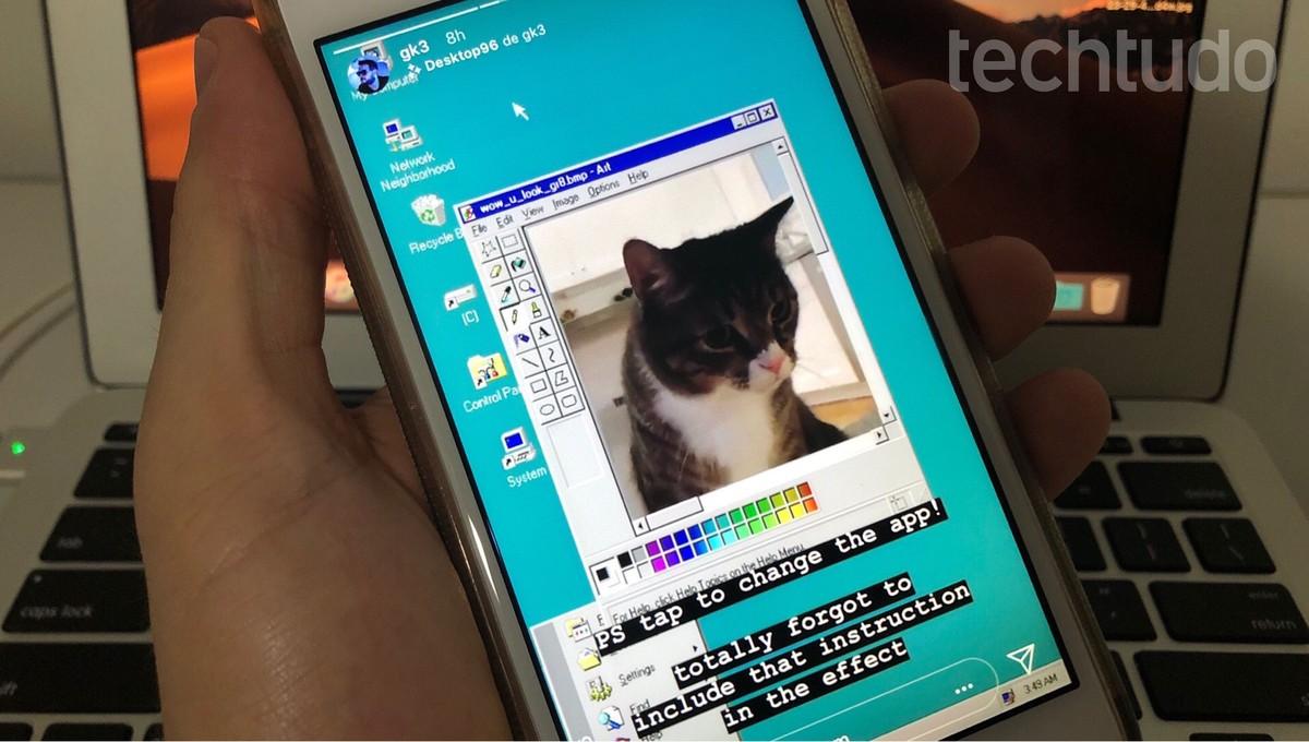Instagram ganha novo filtro com referência ao Windows Desktop96